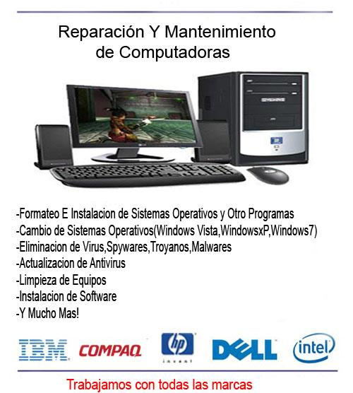 Mantenimiento de computadoras « LS Systems - photo#29